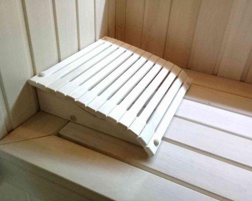 подголовник для бани из липы